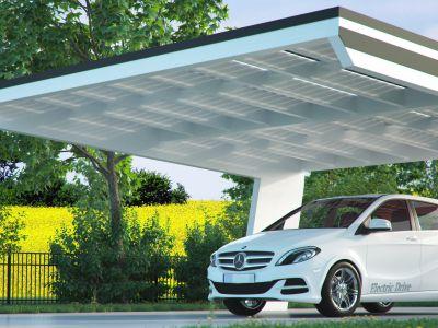 Solar Carports von Kirschbaum Köln