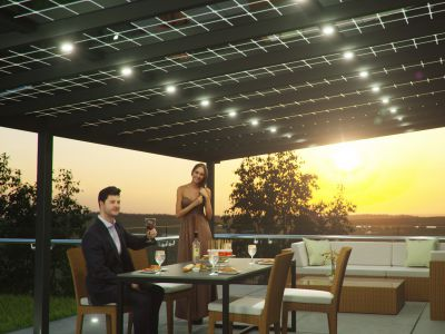 Solar Terrassendach von Kirschbaum Köln