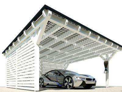 Solar Carport BMW